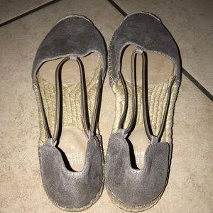 Eileen Fisher Shoes - EILEEN FISHER METALLIC SUADE SHOES #7